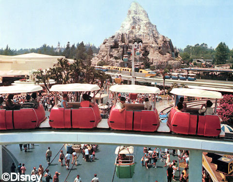 Disneyland PeopleMover