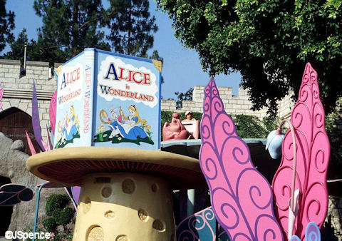 Alice in Wonderland Attraction