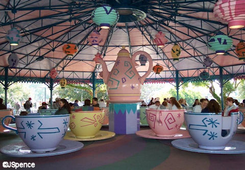 Magic Kingdom Tea Pot
