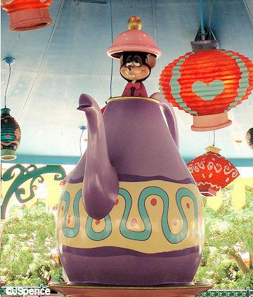 Tokyo Disneyland Tea Pot