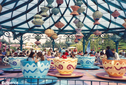 Disneyland Paris Tea Cups
