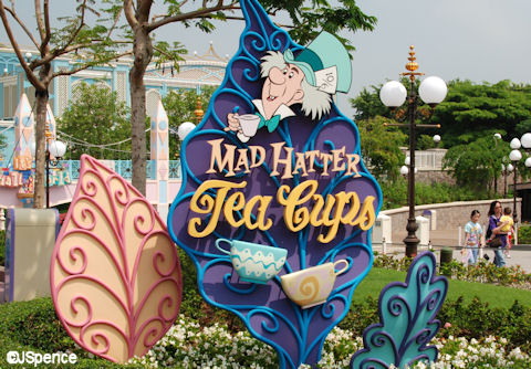 Hong Kong Disneyland Tea Cups