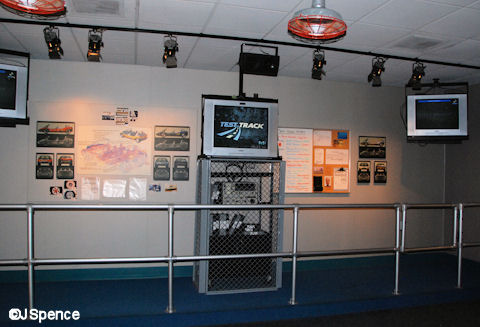 Test Track Briefing Room