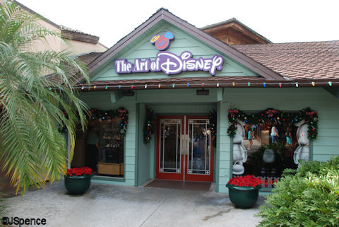 The Art of Disney - Downtown Disney