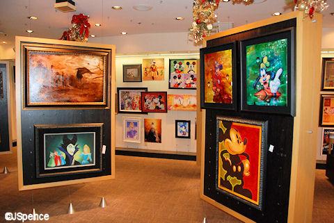 Disney Paintings and Artwork