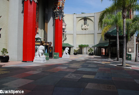 Chinese Theater Courtyard