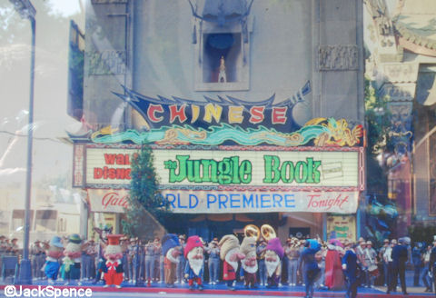Jungle Book premiers at the Chinese Theater