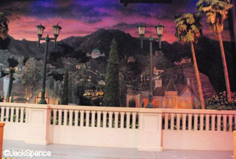 Hollywood Hills Diorama