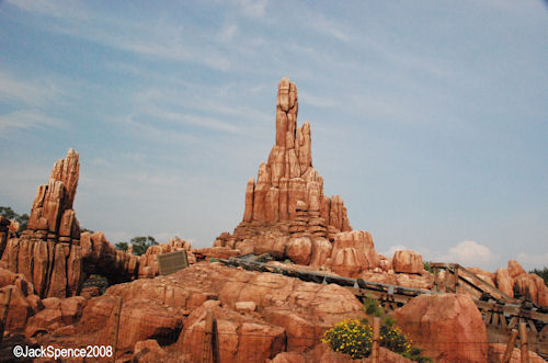 Big Thunder Mountain Tokyo Disneyland