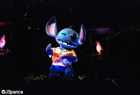 Stitch in the Tiki Room