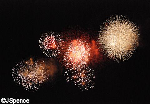 Tokyo Disneyland Fireworks
