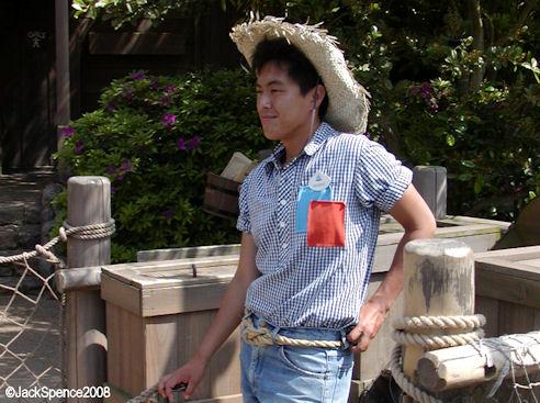 Tokyo Disneyland's Tom Sawyer Island