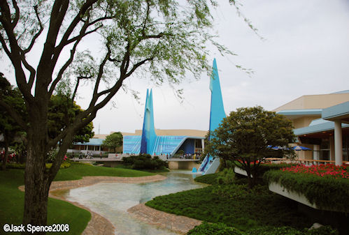 Tomorrowland Entrance Tokyo Disneyland