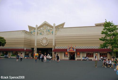 Tomorrowland via Center Street from World Bazaar Tokyo Disneyland