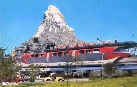 Disneyland Alweg Monorail