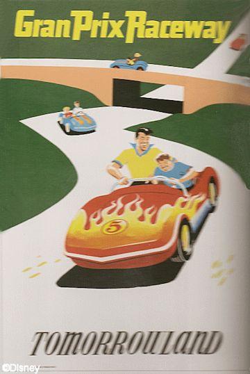 Gran Prix Raceway Poster
