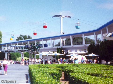 Tomorrowland Skyway