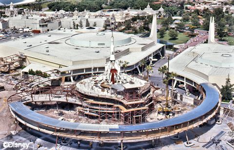 Tomorrowland Under Construction