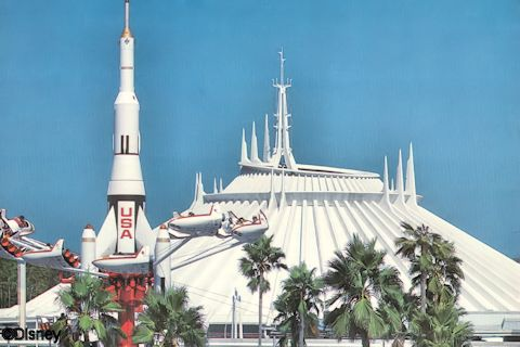 Star Jets and Space Mountain