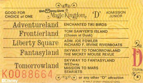 D Ticket