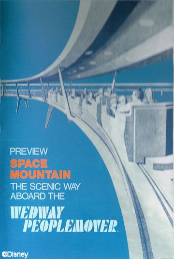 Magic Kingdom PeopleMover Poster