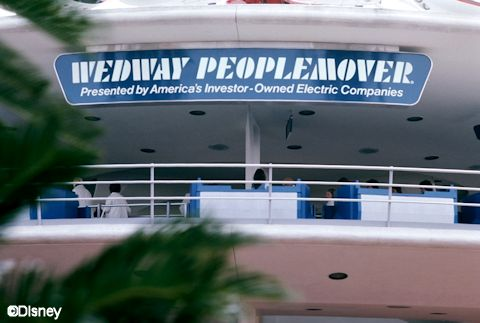 WEDWay PeopleMover Sign