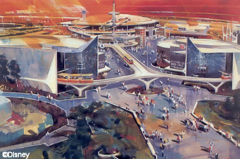 Tomorrowland Concept Drawing