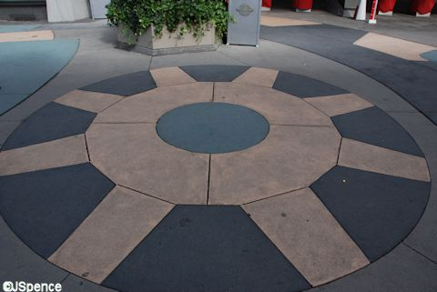 Tomorrowland Pavement