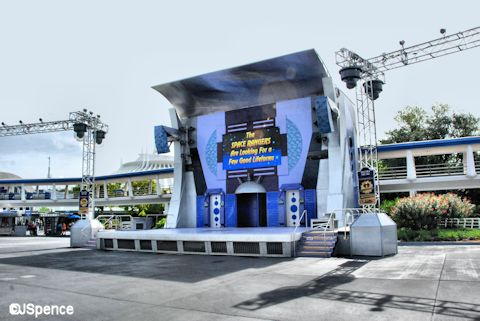 Rockettower Plaza Stage