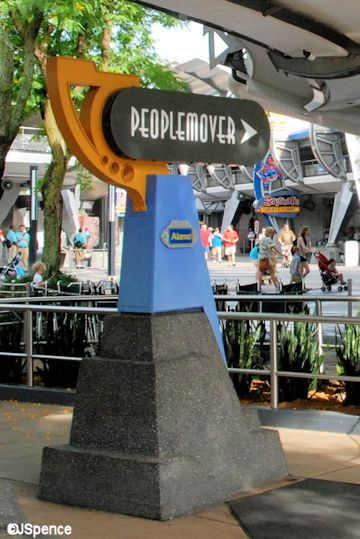 PeopleMover Sign
