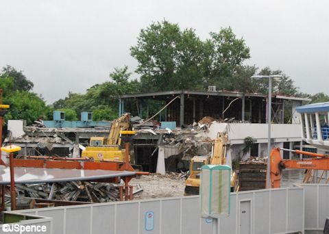 Razing Skyway Terminal
