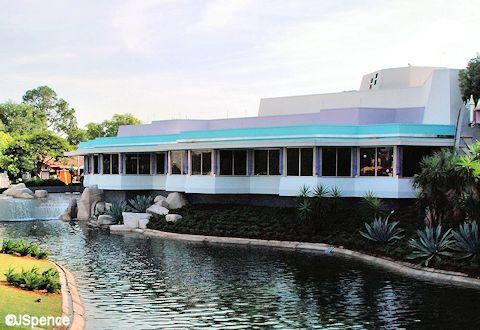 Cosmic Ray's Starlight Café Exterior