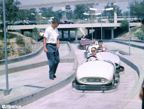 Early Autopia Driver