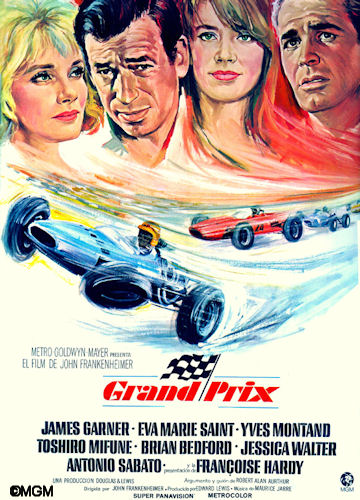 Grand Prix Movie Poster