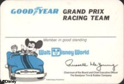Grand Prix Racing Team Card