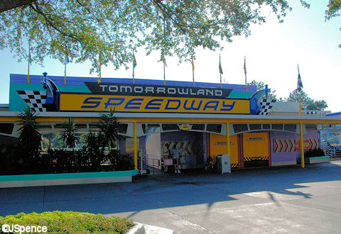 Tomorrowland Speedway Entrance