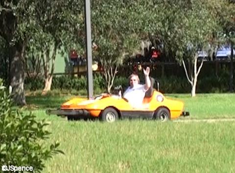 Jack in a Speedway Car