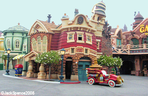Toontown in Disneyland