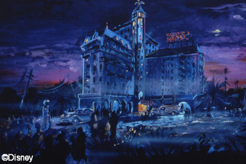 Tower of Terror Concept Art