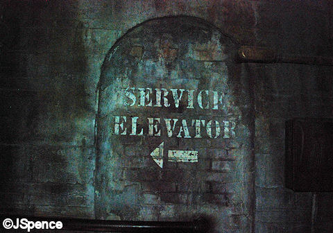 This Way to the Service Elevators