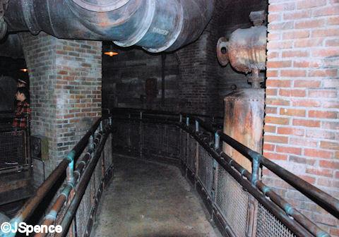 Basement Walkway