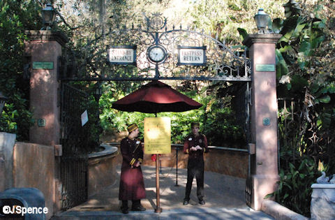 Hotel Entrance Gate