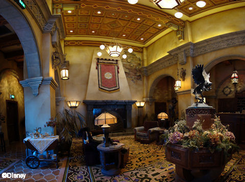 DCA Tower of Terro Lobby