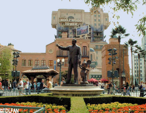Walt Disney Studios Hollywood Section