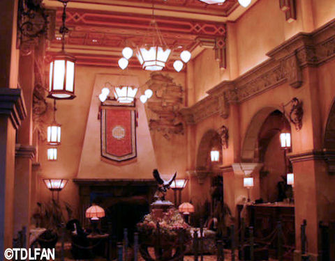Paris Tower of Terror Lobby