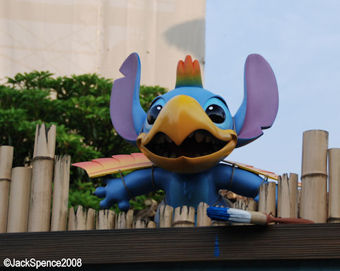 Tiki Birds Adventureland Tokyo Disneyland