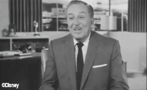 Walt talking about Disneyland