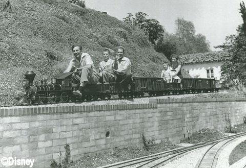 Walt's Backyard Train