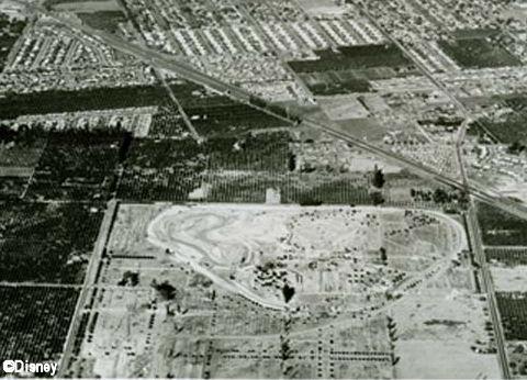 Disneyland Under Construction