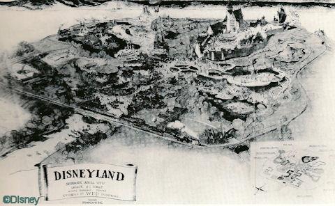Herb Ryman Disneyland Drawing